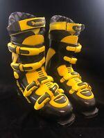 Dynafit Men's 29.5 (EU 45.3, US 11.5) 3V914 Ski Boots - Black & Yellow