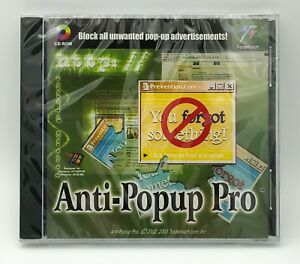 Tradetouch AntiPopup Pro Professional Edition block pop-up advertisements PC CD