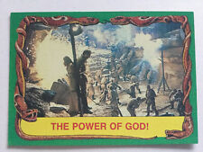 Indiana Jones Raiders Of The Lost Ark Topps 1981 Card 85 The Power Of God