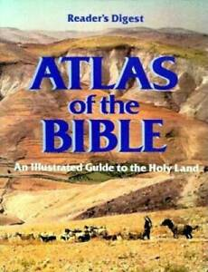 Atlas of the Bible (Readers Digest) - Hardcover - GOOD