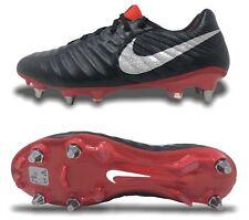 Nike Tiempo Legend 7 Elite SG PRO Mens Soccer Cleat Black/Red-Silver AH7426-007