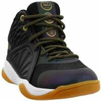 AND1 Attack Mid Boys  Casual Basketball  Shoes - Black - Boys