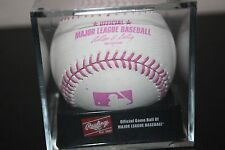 RAWLINGS OFFICIAL 2014 Pink Mothers Day PROTOTYPE MLB Baseball RARE in CUBE
