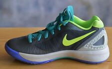 NIB NIKE Volley Zoom Hyperspike Sz 5 US Gray Lime Green Volleyball Athletic Shoe