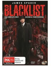 The Blacklist : Season 1-3 (DVD, 2016, 17-Disc Set)
