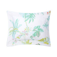 YVES DELORME | ETE PILLOWCASE PRINTED 100% COTTON SATEEN 300TC 40% OFF RRP