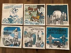 Vintage Lot of 6 View Master Booklets (1950's to 1970's)