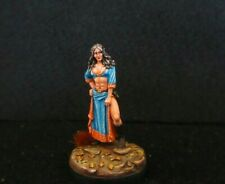 Dark Sword  Miniatures, Female Elven Mage (Metal) Painted D&D,Reaper