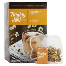 Mighty Leaf Chamomile Citrus Tea 15 Whole Leaf Tea Pouches - Authorized Seller