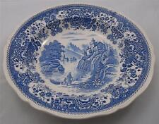 Villeroy & and Boch BURGENLAND BLUE - large rimmed bowl 25cm green backstamp