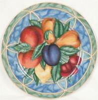 Forbidden Fruit Salad Plate Victoria & Beale 9024 Porcelain Colorful Dinnerware