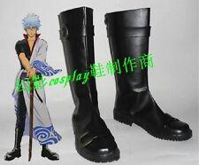 Gintama Silver Soul Sakata Gintoki   cosplay shoes boots Custom-Made