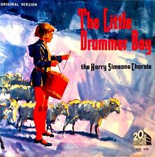 HARRY SIMEONE CHORALE - LITTLE DRUMMER BOY - 45 + PICTURE SLEEVE