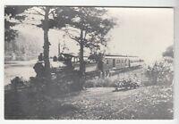 [42336] UNDATED REPRODUCED RAILROAD PHOTOGRAPH OF TRAIN