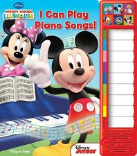 """MICKEY MOUSE CLUBHOUSE """"I CAN PLAY PIANO SONGS"""" PLAY A SOUND"""