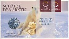 5 € Silbermünze 2014 Österreich Abenteuer Arktis HG