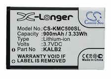 Replacement Battery For Micromax 3.7v 900mAh / 3.33Wh Mobile, SmartPhone Battery