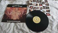 Motorhead - No Sleep 'Til Hammersmith 1981 UK LP BRONZE 1st