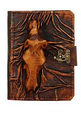 CAVALLO 3D Marrone in Cuoio Vintage Kindle Touch Paperwhite Viaggio 4 5 COVER