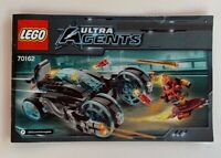 INSTRUCTIONS ONLY LEGO 70162 Ultra Agents manual book from set
