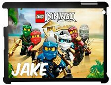 Personalised Lego Ninjago Kids Apple Ipad case 2/3/4 & Mini 1/2/3 Mini 4/5 2019
