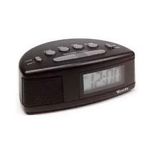 """Westclox 7"""" Lcd Alarm Clock 47547 Clocks"""