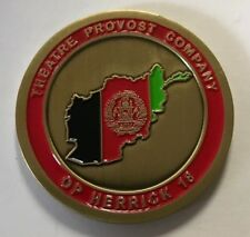 Theatre Provost Company OP Hendrick 18 MP Military Police Afghanistan