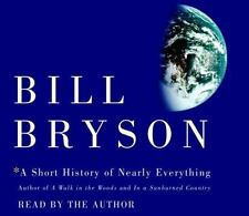 A Short History of Nearly Everything by Bill Bryson Audio CD 2003 5 CDs