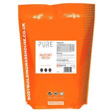 Proteínas y musculación polvos naranja