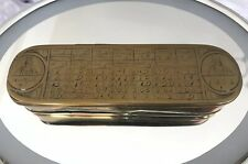 Brass Tobacco Box - Mid 18th Century - Maritime Smoking
