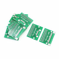 10Pcs FPC 24P 0.5mm 1mm to DIP24 2.54mm Pitch 2 Sides PCB Board Plate Adapter