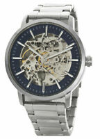 Kenneth Cole Automatic 20 Jewels Skeleton Dial Silver Men's Watch KC50683005 SD