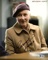 ROSEMARY HARRIS SIGNED AUTOGRAPHED 8x10 PHOTO AUNT MAY SPIDER MAN BECKETT BAS