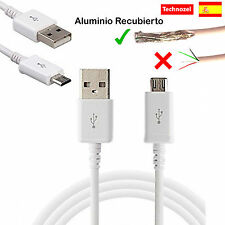 """Cable Micro USB Para Samsung Galaxy Tab 4 7.0"""" Aluminio Recubierto Calidad"""