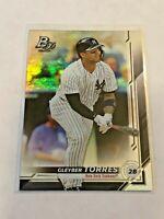 2019 Bowman Platinum Baseball Base Card - Gleyber Torres - New York Yankees