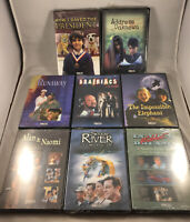 Feature Films for Families DVD Lot: 8 Different Movies! Address Unknown, Same Ri