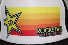 RockStar Rock Star Energy Drink RR Snapback Baseball Trucker Mesh Cap Hat