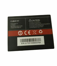 Original 1600mAh Rechargeable Battery For Smartphone Cubot p7 3.7V