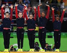 RIO BRAZIL Olympics USA Gymnastics Glossy 8x10 Photo Gabby, Aly, Simone Laurie