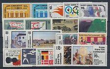Türk. Zypern Jahrgang 1984 postfrisch / in den Hauptnr. kompl. (10341) .........