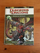 Dungeons and Dragons 4th Ed Monster Manual
