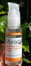 MURAD RAPID AGE SPOT AND PIGMENT LIGHTENING SERUM 2 oz   No box
