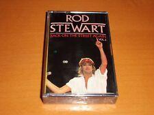 """ROD STEWART """"BACK ON THE STREET AGAIN VOL.2"""" CASSETTE TAPE RARE! NEW & SEALED!"""