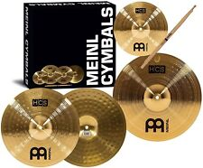 Meinl Cymbals HCS1314+10S HCS Pack Cymbal Box Set with 13-Inch Hi Hats 14-Inc...