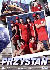 Przystan Box (4DVD) Filip Zylber (Shipping Wordwide) Polish film