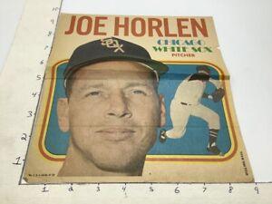 1970 Topps Pin-Ups Poster #1 of 24; JOE HORLEN chicago white sox pitcher