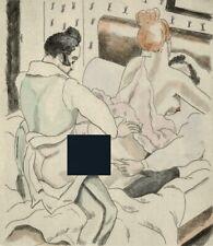 VIROT CHAS LABORDE 1 eau-forte érotique Chanson Béranger 1/250 curiosa erotica