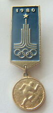 MOSCOW 1980 XXIInd OLYMPIC GAMES LOGO - ATHLETICS, TRACK & FIELD - RUNNING PIN