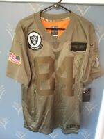 Antonio Brown Oakland Raiders Nike Salute To Service Limited Jersey Mens Large L