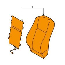 Genuine OEM Seat Back Cover for Toyota 710730E290B1
